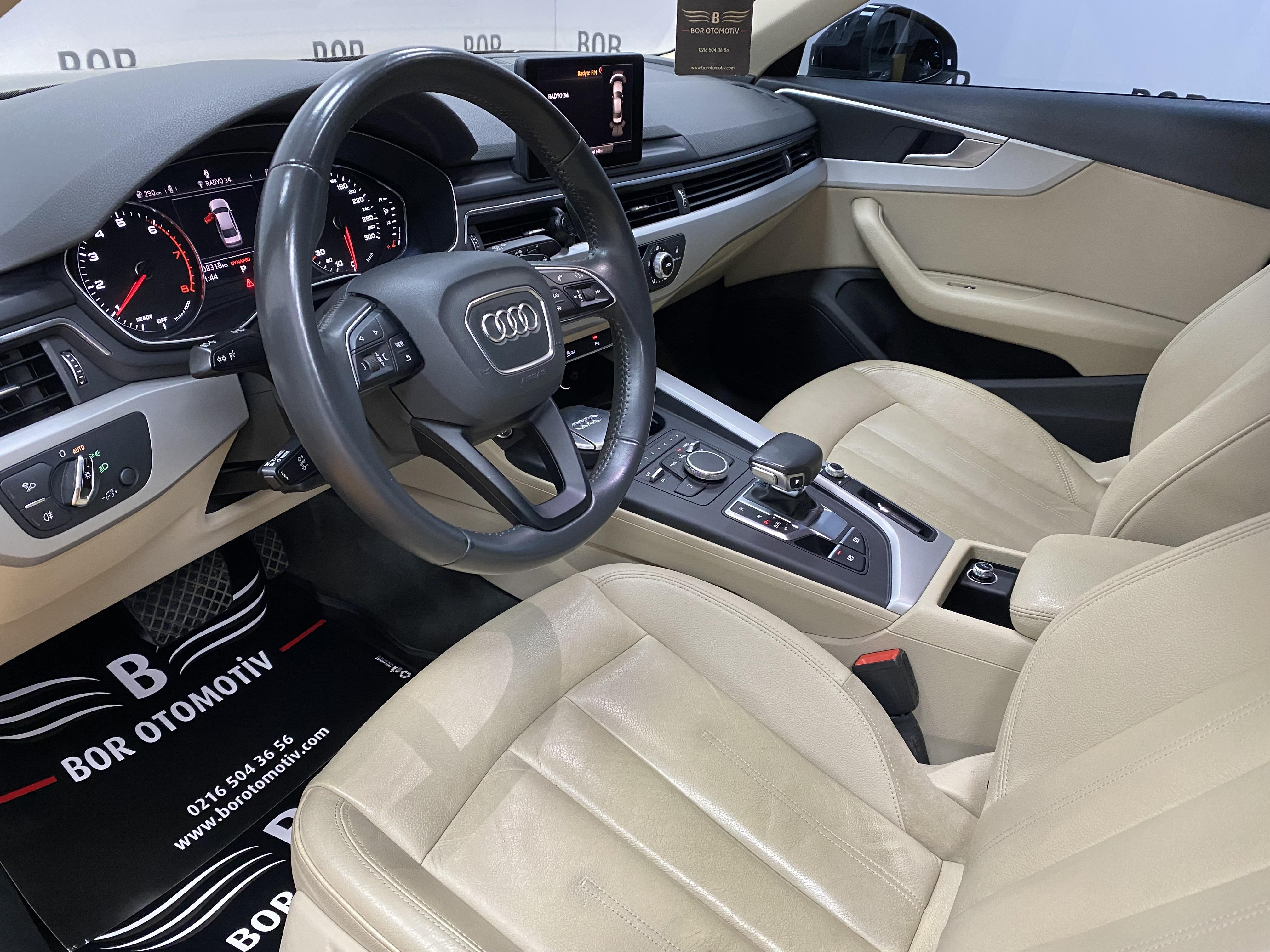 2016*Audi A4 1.4 TFSI Dynamic*Krem Deri*Isıtma*Led*Xenon*Bakımlı full